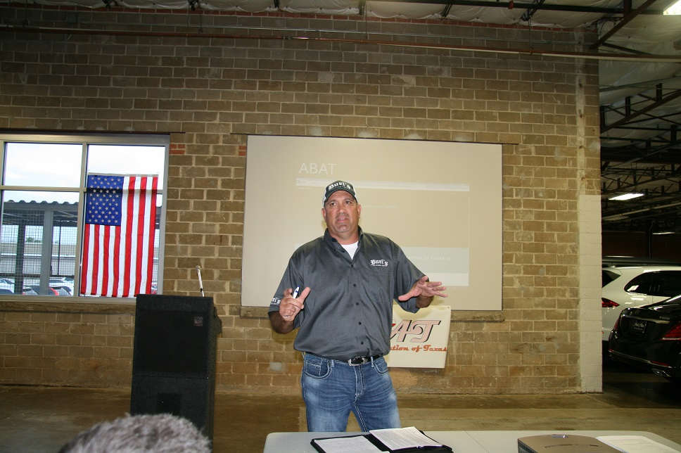 ABAT Informational Meeting Burl Richards