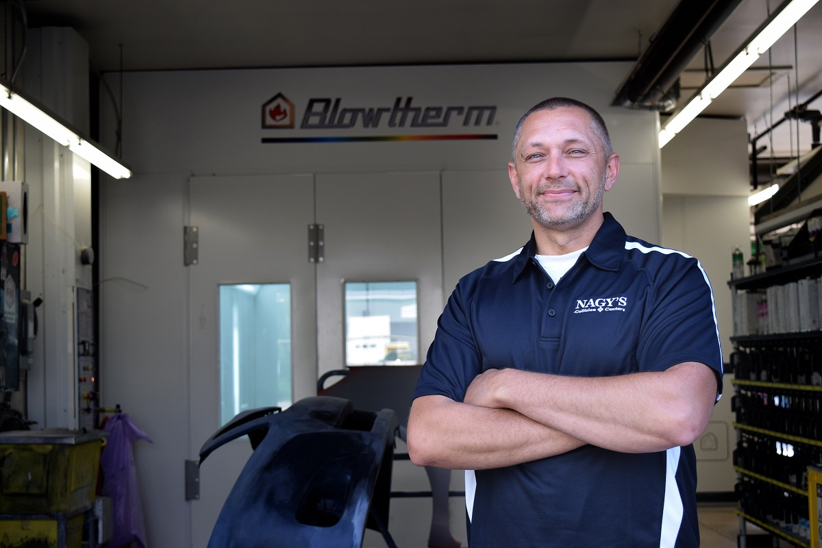 Nagy's Collision Centers in Wadsworth Welcomes Brian Kauf