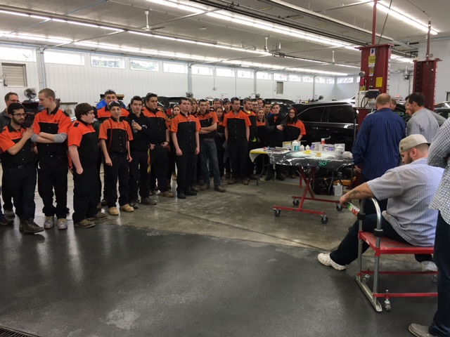 Students Receive First-Hand Introduction to Industry from LKQ & Centerline CARSTAR in Ohio