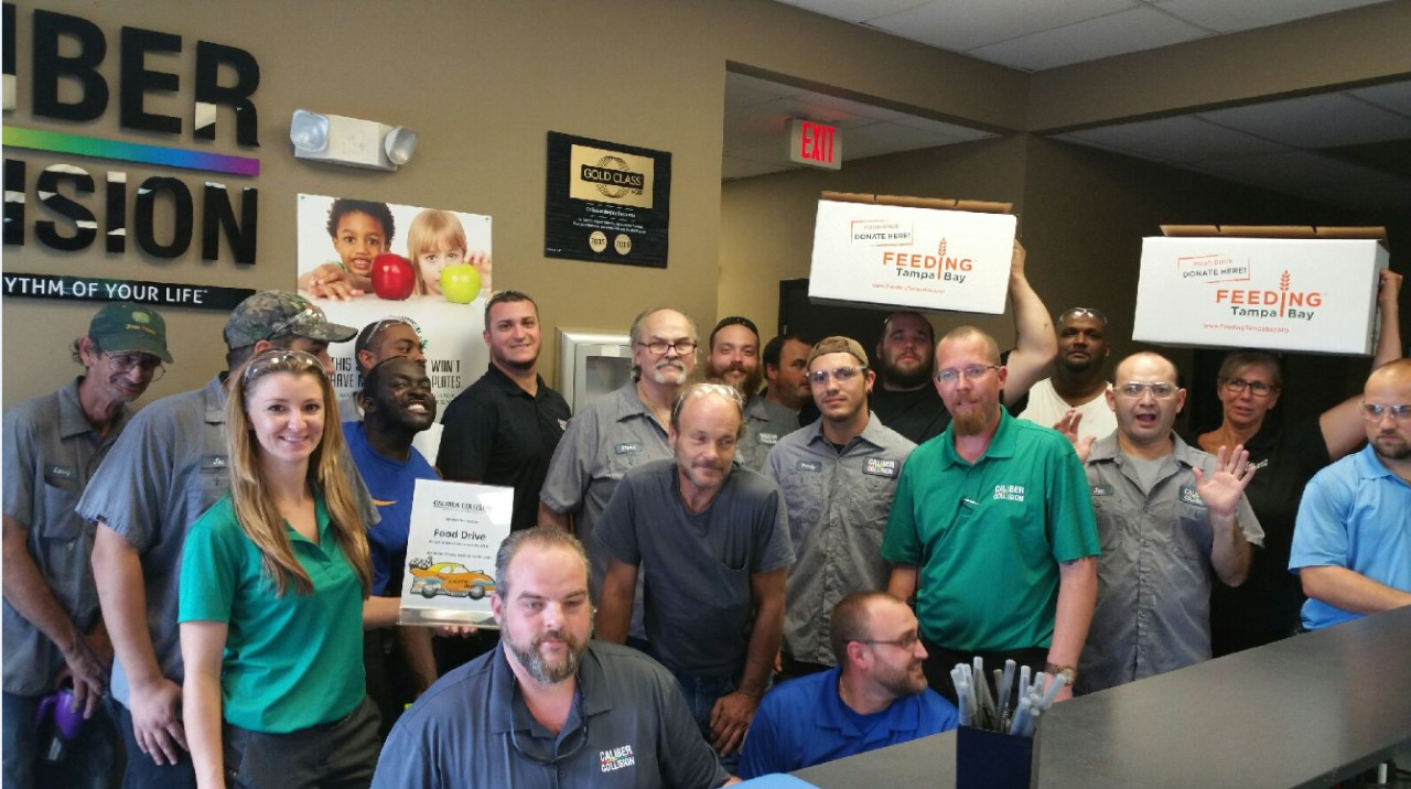 Caliber Collision Teammates Rally Nationwide, Donate Record 3.1 Million Meals for 37 Food Banks