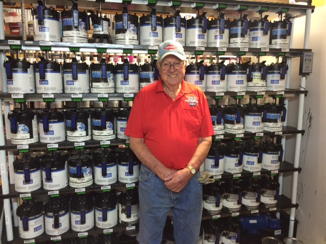 95-Year-Old Veteran Keeps Busy at TX Body Shop