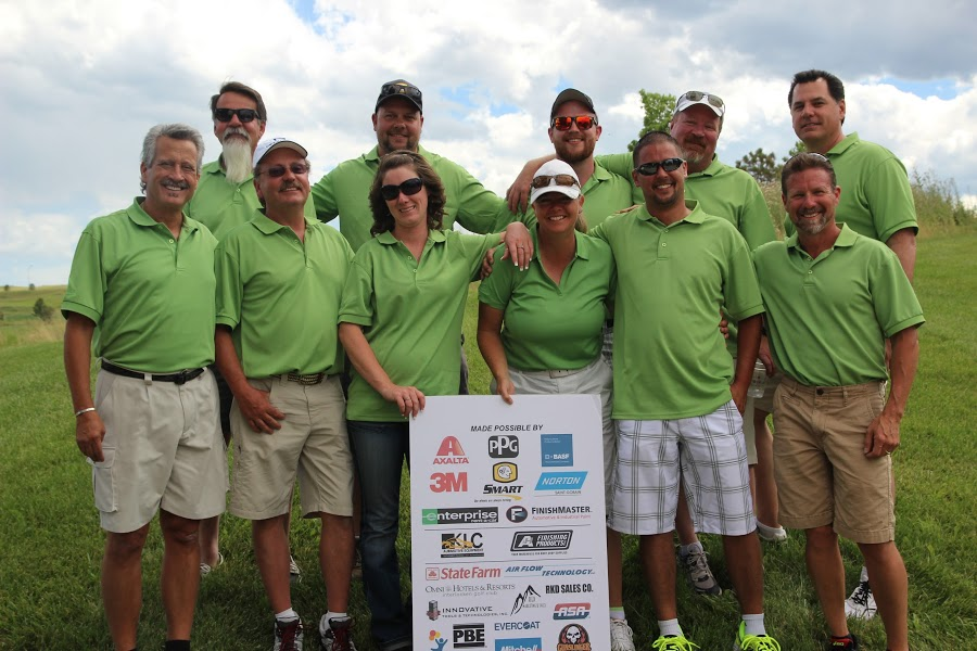 FinishMasters CO sales team shows gratitude to event sponsors