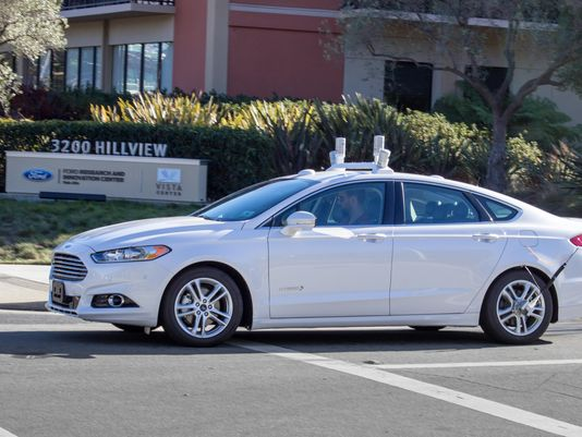 Ford Driverless CA