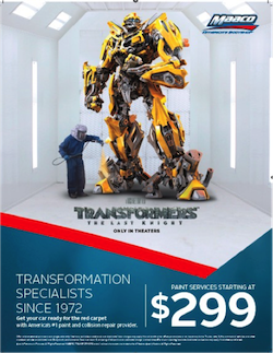 MAACO Transformers last knight partnership