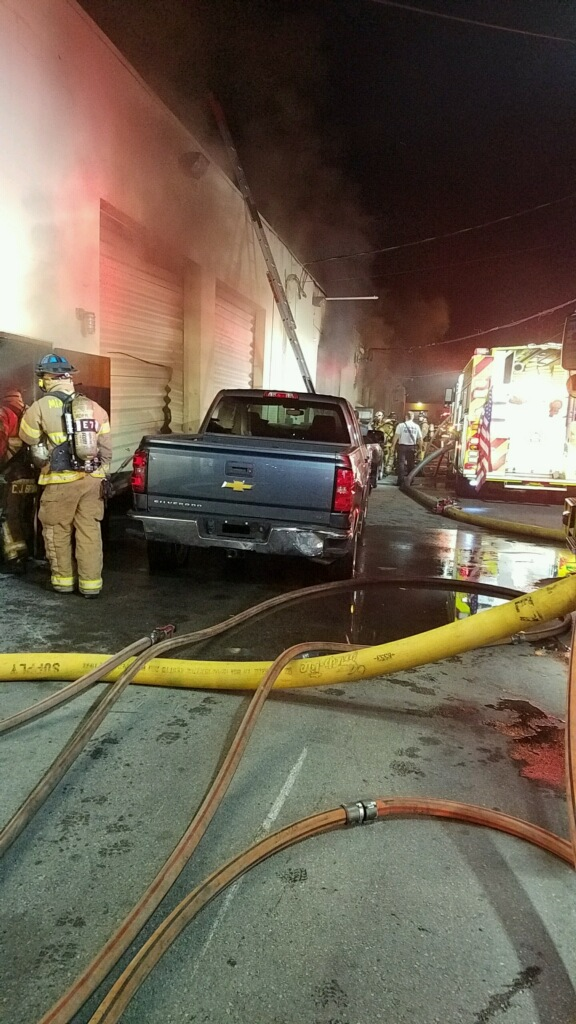 Miami Body Shop Fire 1