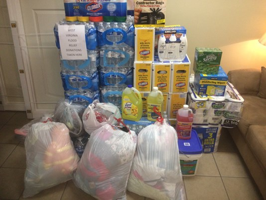 Greensboro Auto Shop Collects Donations For West Va. Flood Victims
