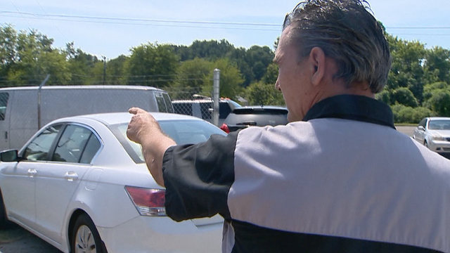 Autobody Shop Gives Cars To Families In Need