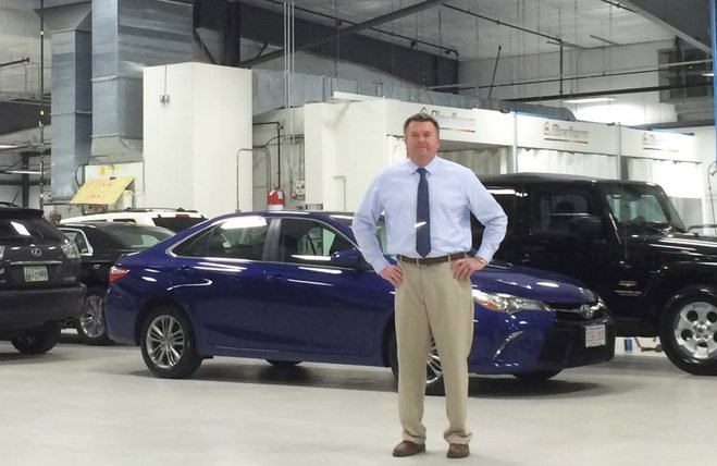 New Collision Repair Center in TN as Sleek as a Car Showroom