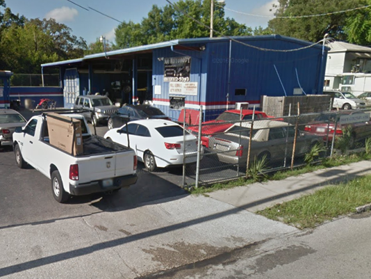 aa auto body tampa shooting