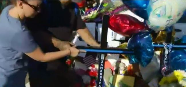 North Texas Man Builds Crosses to Honor Officers