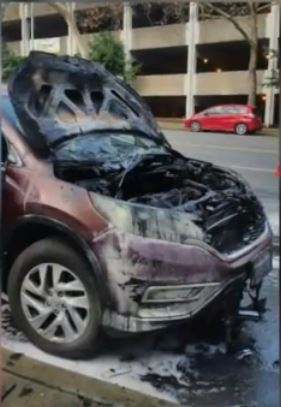 mom saves kids from burning car 2