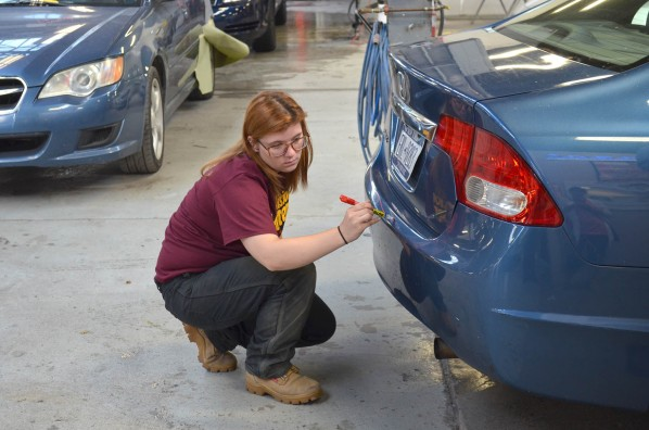 Teen Breaks Barriers, Disassembles Cars, Earns Cash
