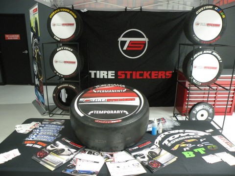 Tire Stickers West Coast Customs