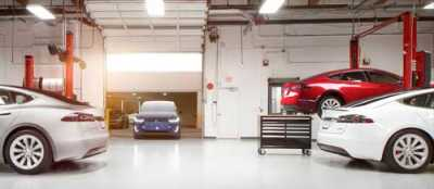 Tesla Opens Its First 9 Body Repair Centers