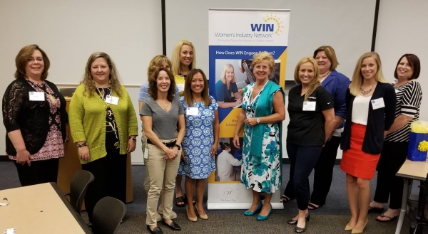 Elise Quadrozzi from I-CAR, the sponsor of WIN's Chicago event on June 13, provided an industry update.