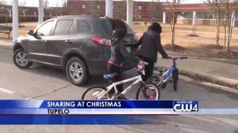 Tupelo, MS, Collision Repair Class Rehabs Bicycles for Christmas