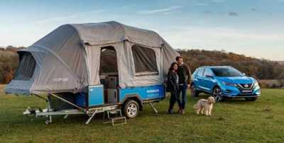 On the Lighter Side: Camper Powered by Used Nissan Leaf Batteries Gives New Meaning to 'Off the Grid'