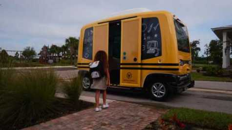 Feds Shut Down Ill-Advised Driverless School Bus Tests in FL