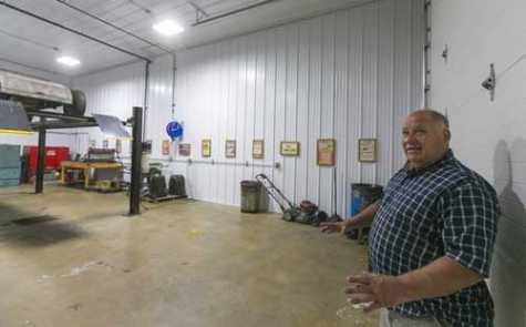 Owner of auto body shop damaged by fire is grateful for for Community motors mason city