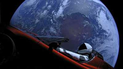 On the Lighter Side: VIDEO: 1 Year After Launch, Checking in on SpaceX's Starman