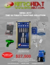 Nitroheat Introduces a SEMA 2017 Special Spray Painting Kit, Packaged with Partner Products