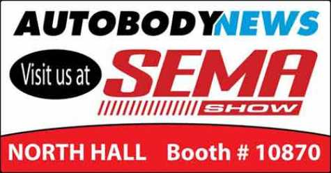 Visit Autobody News at the SEMA Show, Booth #10870!