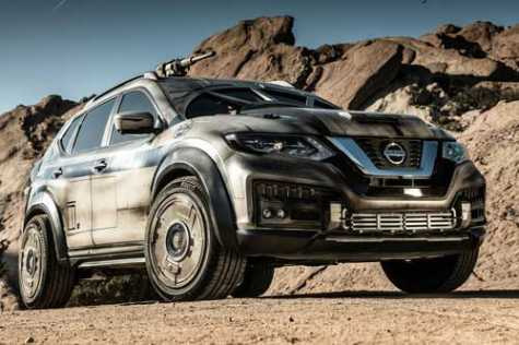 Nissan Made Han Solo's Millennium Falcon out of its Rogue Crossover