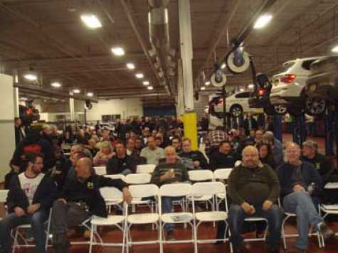 LIABRA and ABCG's January general meeting attracted more than 200 collision repair industry professionals.