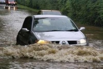 High Waters Can Leave Damaged Vehicles, High Auto Repairs in their Wake
