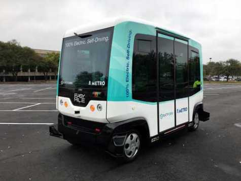 In 2017, Capital Metro and RATP Dev, one of its service providers, hosted a demonstration during SXSW of autonomous vehicles.
