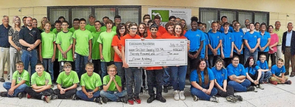 St. Clair County RESA's Career ACademy received a $20,000 grant from the Community Foundation of St. Clair County's James C. Acheson Fund to expand the summer program that caters to high school students at risk of dropping out. Photo courtesy of St. Clair County RESA/Facebook