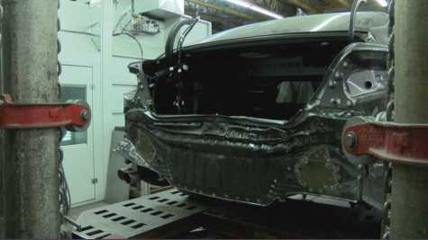 Cars Still Being Repaired After Wrecks in Northern Nevada