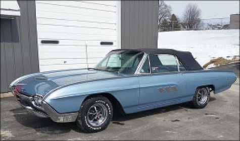 Lee Auto Body – Classic Car and Truck Restoration brought this 1963 Ford Thunderbird back to life at its new restoration shop on East Main St. in Spring Grove, MN.