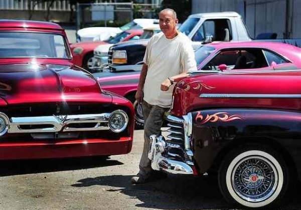 Manuel Angel has been painting and repairing cars in Vallejo for decades and is known for his amazing work on classic vehicles. Chris Riley — Times-Herald