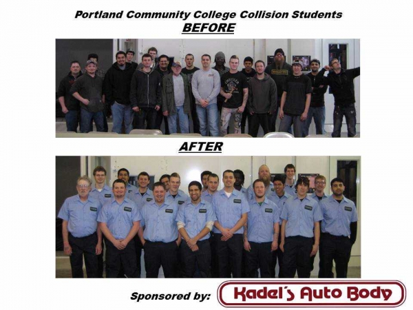 Industry Invited to Sponsor Work Uniforms for Local High School and College Collision School Programs
