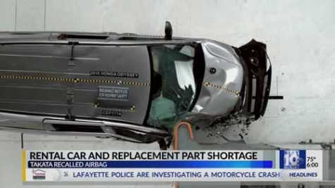 Car Owners With Recalled Takata Airbags Have Trouble Getting Rentals, Repairs