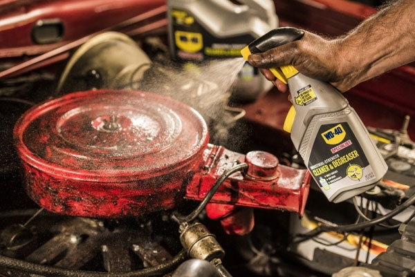 New WD-40 Degreaser Powerfully & Safely Gets the Job Done