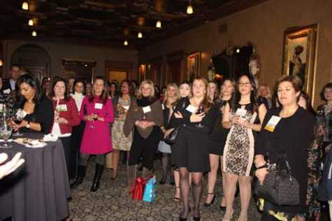 AWAF members celebrate another successful year during the group's annual Holiday Event in December.
