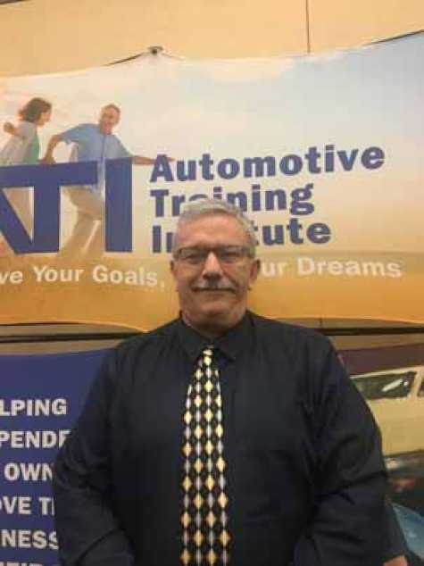 Keith Manich, director of collision services for the Automotive Training Institute