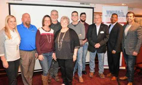 WMABA Board of Directors L-R: Jordan Hendler (Executive Director); Don Beaver, Barbara Chase, Phil Rice, Torchy Chandler, Danny Szarka, Steven Krieps, Kevin Burt, William Hawkins, Barry Dorn