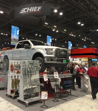 Chief® to Display Latest Collision Repair Equipment  at NACE Automechanika Chicago 2017