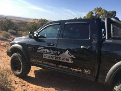 JC Whitney Honors American Heroes with a Sweepstakes Featuring Prizes including a Custom 2017 Ram Truck.