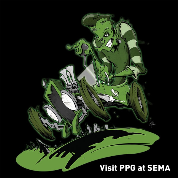 PPG Shows Off Screaming Colors at SEMA
