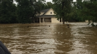 Flooding caused irrevocable damage to property in the Houston area.