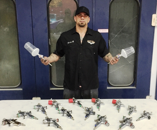 Shop Showcase: Painter Uses SATA Guns and Shoots for Quality