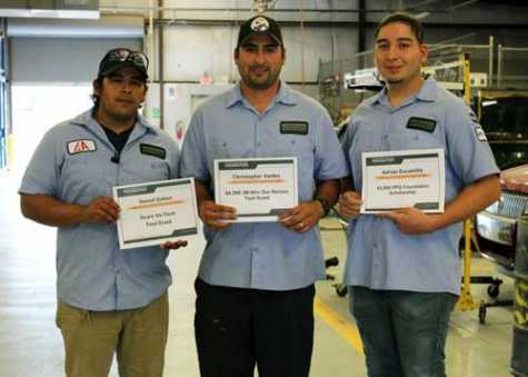 TX Auto Body Students Presented With Scholarships, Tool Grants