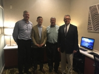 Additional speakers at ASA-MA/RI's October meeting included (left to right) Dan Risley, Wayne Weikel, Stephen Regan, and Robert Redding.