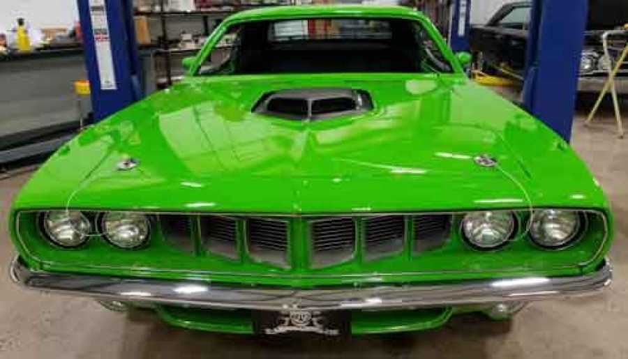 39 graveyard carz 39 reports alleged theft and illegal sale of sema 2016 plymouth barracuda. Black Bedroom Furniture Sets. Home Design Ideas