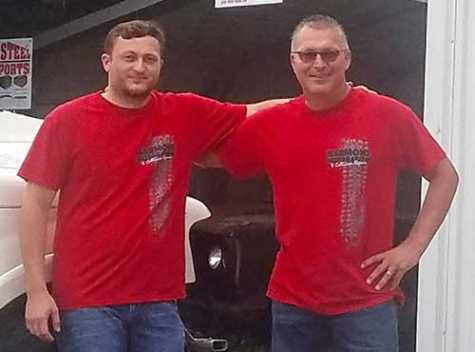 Randy and Tyler Harmon outside their Farmland, IN, location. Harmon recently opened an additional shop in Muncie, IN.