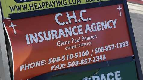 CHC Insurance Agency at 930 Crescent St. in Brockton, MA, on Tuesday, Feb. 27.